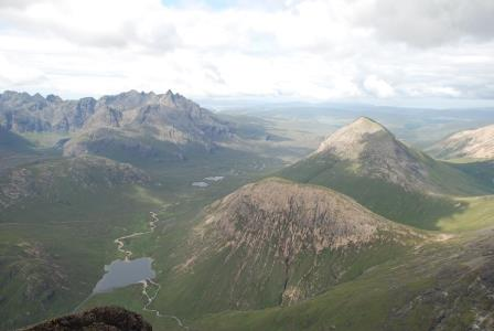 View from the top of Bla Bheinn